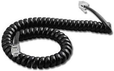 1 X Nortel Norstar 9 ft. Black Handset Cord For M7100, M7208, M7310, M7324 Phone