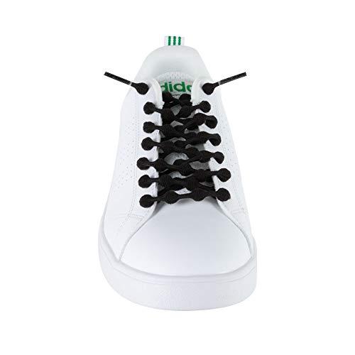 クールノット(COOLKNOT)結ばなくてもいい靴ひもブラックMサイズ