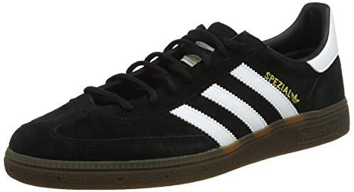adidas Originals Herren Handball Spezial Sneaker, Schwarz (Schwarz (Core Schwarz/Ftwr White/Gum5)), 39 1/3