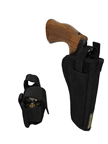 Barsony New OWB Holster + Speed-Loader Pouch for EAA WINDICATOR Right