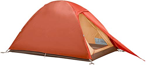 VAUDE 2-personen-zelt Campo Compact 2P, 2 Personenzelt, einfacher Aufbau, terracotta, one Size, 142191700