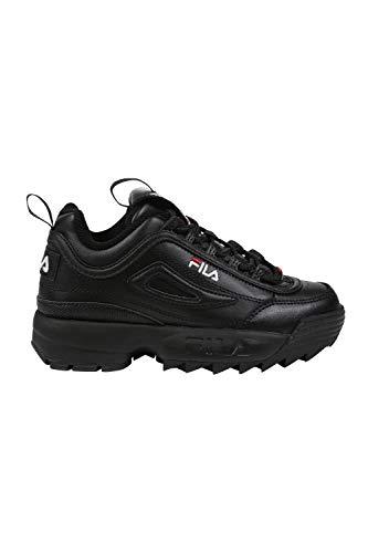 Fila Disruptor II Youth Schwarz/Weiß Sneakers-UK 11 Kinder/EU 29
