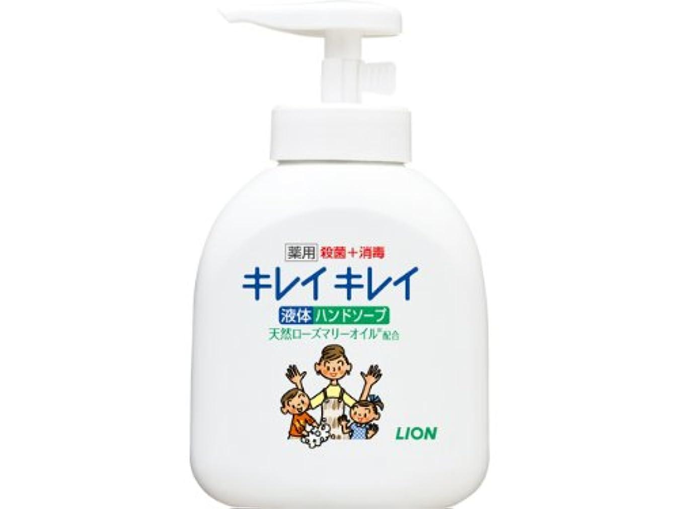 全能ナプキンプロフィールキレイキレイ 薬用 液体ハンドソープ 本体ポンプ 250ml (医薬部外品)