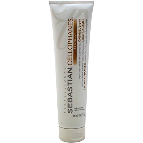 CELLOPHANES Caramel Brown, Color Revitalizer with A3 Complex (Caramel Brown - 10.1 oz / 300 ml)