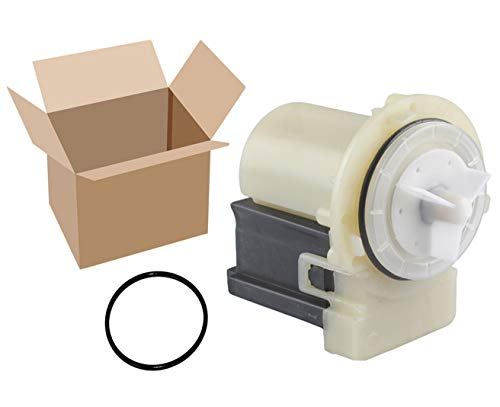 Podoy 8181684 Washer Drain Pump Motor for Compatible with Maytag Whirlpool Kenmore Askoll M75 285998 8182819 280187 PN282158 8182821 AP3953640