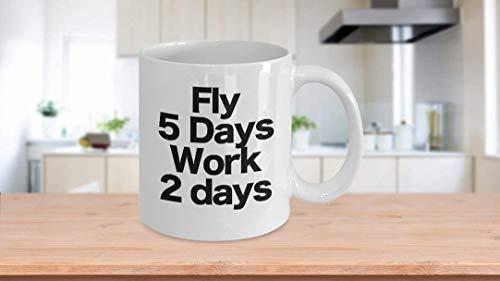 11 oz koffiemok, theekopje, vliegenmok witte koffiebeker cadeau voor privé marine toekomst drone piloot