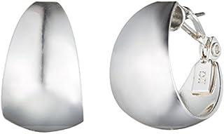 گوشواره های نقره ای Anne Klein Classics Tone 14K ، یک اندازه