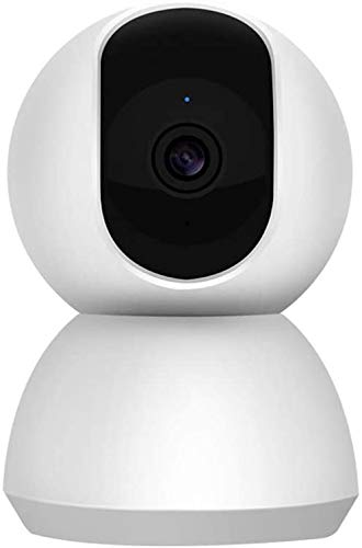 CHUTD Security Camera, Smart camera 1080P360 graden surveillance camera nachtzicht draadloos thuis wifi panoramische HD home telefoon remote video recorder huisdier netwerk om winkel schat te zien -32G
