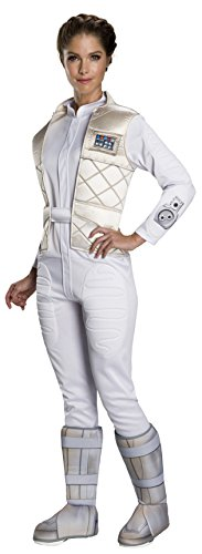 STAR WARS Classic Princess Leia Hoth Adult Costume - Small