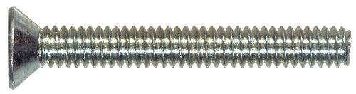 "Hillman Group 101040 6-32-Inch x 1-1/2-Inch, 100-Pack Zinc Flat Head Phillips Machine Screw, 6-32 x 1-1/2"", 100 Pieces"