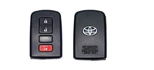 Genuine Toyota Highlander Smart Key 89904-0E121. OEM Keyless Entry Remote Transmitter. 2014-2018 Highlander. 2014-2018 Highlander Hybrid.