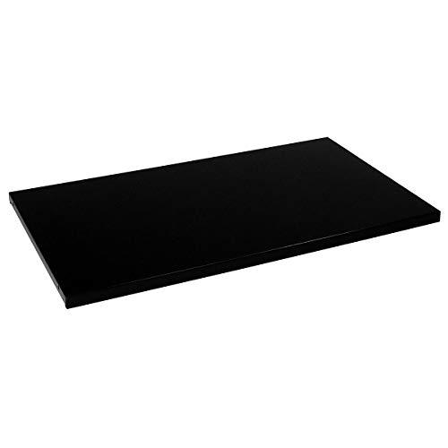 Mauser Tablette - pour l x p armoire 1200 x 500 mm, lot de 2 - noir - accessoires armoire à portes coulissantes armoires à portes coulissantes tablette tablette supplémentaire tablettes Accessoire