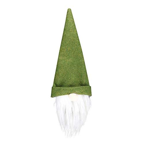 Makluce Weihnachten gesichtslosen Puppe Kronkorken Fashion Schöne Weihnachtsbaum-Anhänger Hauptdekoration