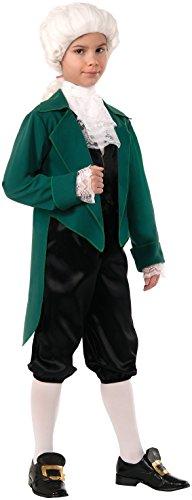 FORUM Novelties Deluxe Thomas Jefferson Costume, Small