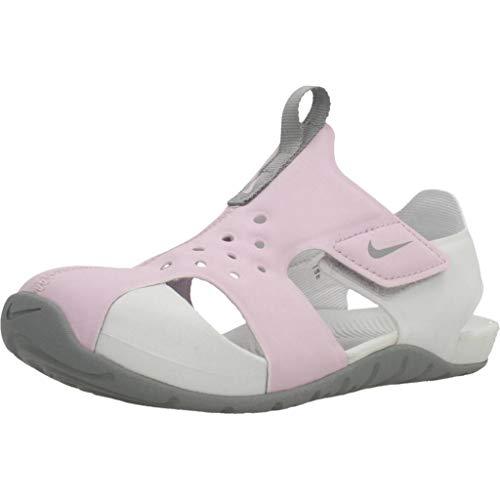 Nike Baby Jungen Sunray Protect 2 Wanderschuh, Lila Helado/Partícula Gris/Polvo Fotón, 22 EU