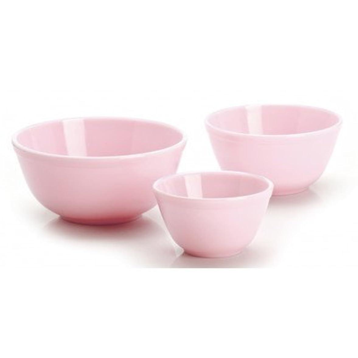 居住者びっくりするスーダン3 Piece Glass Mixing Bowl Set Color: Crown Tuscan
