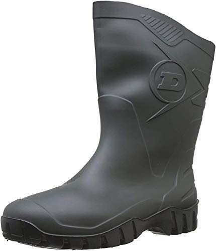 Dunlop Protective Footwear Dee Unisex-Erwachsene Gummistiefel, Grün 37 EU