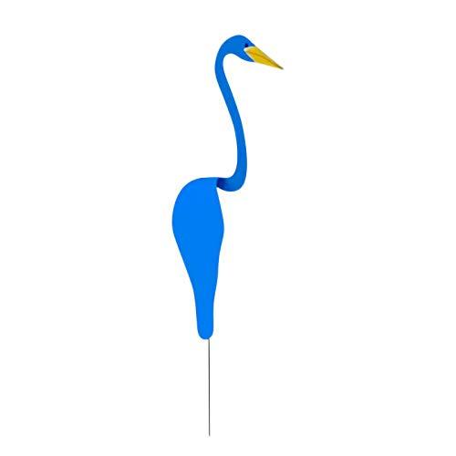 Borlai Playa Remolino Pájaro Aluminio Dinámico Pájaro Girar con Brisa Accesorios de Fotografía para La Decoración del Patio Trasero del Hogar