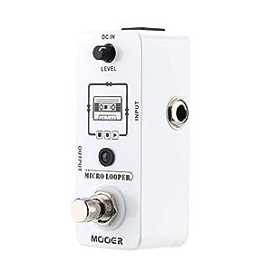 Effektpedal Mooer Micro Looper Mini Loop-Aufnahme-Effekt-Pedal Musikinstrumente & DJ-Equipment ( Color : Weiß )