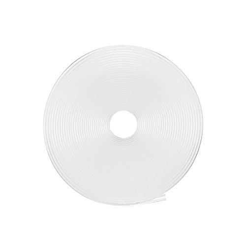 Sourcingmap - Tubi termorestringenti da 7 mm, diametro 11 mm, larghezza piatta: 2:1 termorestringente tubo avvolgente trasparente