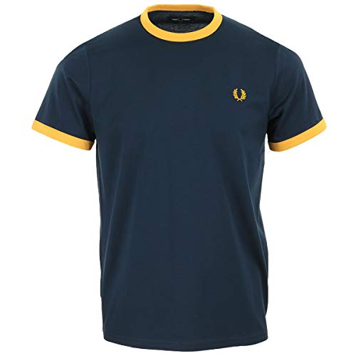 Fred Perry Ringer T-Shirt, T-Shirt - M