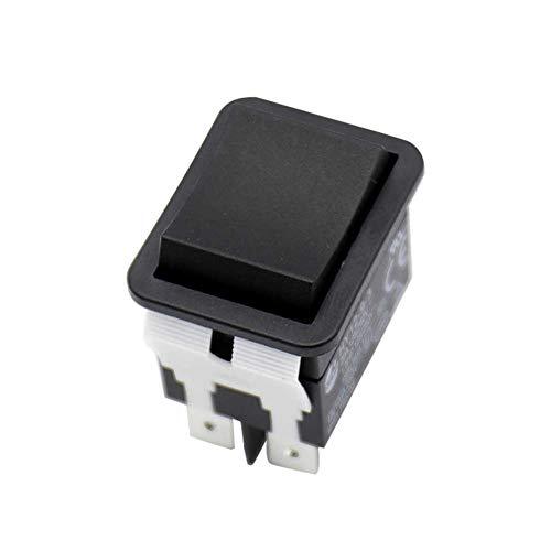 WENKEN Interruptor basculante HY12-9-3, botón de presión seguro, barco eléctrico de ABS...