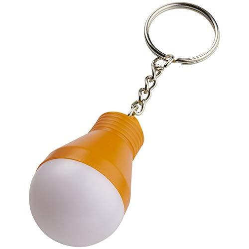 Bullet - Llavero con luz LED Modelo Aquila (Talla Única) (Naranja)