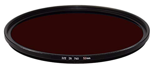 ICE IR 52mm 52 Slim Filter Infrared Infra-Red 760HB 760nm 760 Optical Glass