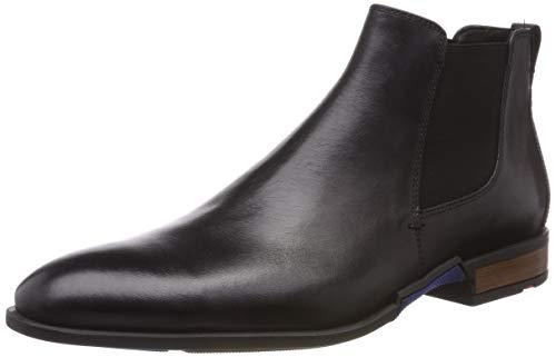 LLOYD Herren RONJO Chelsea Boots, Schwarz (Schwarz 0), 43 EU