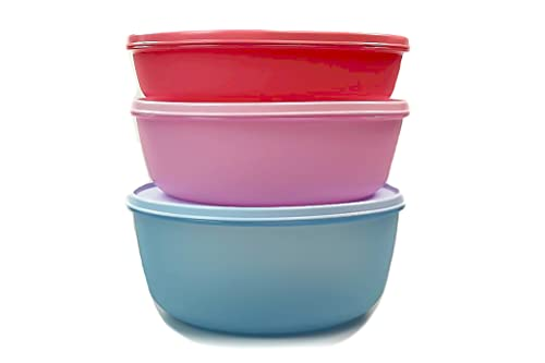 Tupperware Clarissa XXL - Frigorífico (2 L, rosa claro, 3 L, 4 L), color azul claro