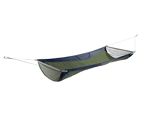 ENO, Eagles Nest Outfitters Skyloft Hammock with Flat and Recline Mode, Navy/Olive