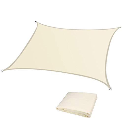 Sombrilla impermeable de 280 g/m², para exterior, jardín, playa, camping, piscina, toldo para el sol
