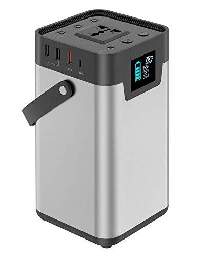 Tragbarer Generator X-DRAGON 200Wh 54000mAh Stromerzeuger Mit 110V/200W (Peak 250W) Batterie Power Station für Den Outdoor, Camping, Auto, Emergency