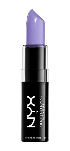 NYX Macaron Pastel Lippies Lipstick - Lavender : MALS09 'Lavender' 0.16 oz.
