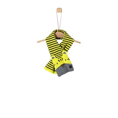 s.Oliver 59.909.91.2855 Sciarpa, Giallo (Yellow 1177), (Taglia Unica: 1) Bimbo