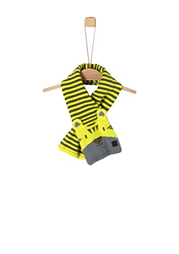 s.Oliver Baby-Jungen 59.909.91.2855 Schal, Gelb (Yellow 1177), One Size (Herstellergröße: 1)