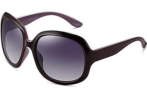 ATTCL Donna Oversize Polarizzati Uv400 protezione Occhiali Da Sole 3113 Purple