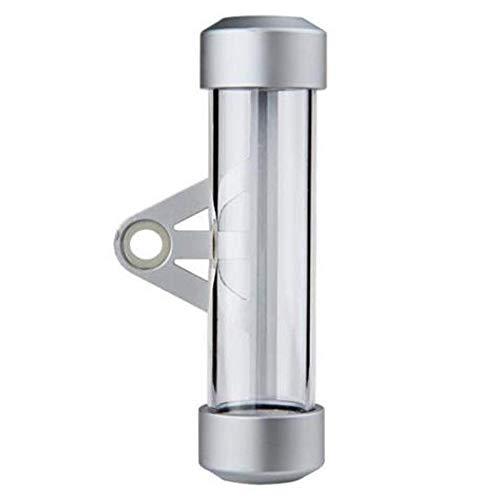 Vasko - Portatornillos cilíndrico de aluminio + ABS para moto