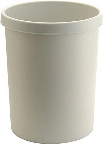 Papel cesta 45l Mango de plástico con borde color gris