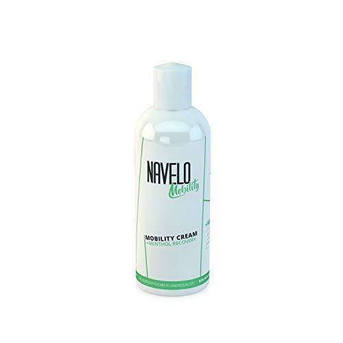 Navelo Mobility Creme - Menthol Recovery | Entspannungs Creme | bei Verspannungen und Schmerzen | Erfrischt, entspannt und regeneriert | Muskel und Gelenkcreme Für mehr | Mobilität & Beweglichkeit (1)
