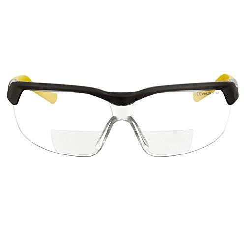 bifocal safety glasses 1 75 - 7