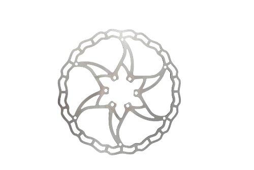 Disco de Freno ASHIMA Ai2 180mm Plata