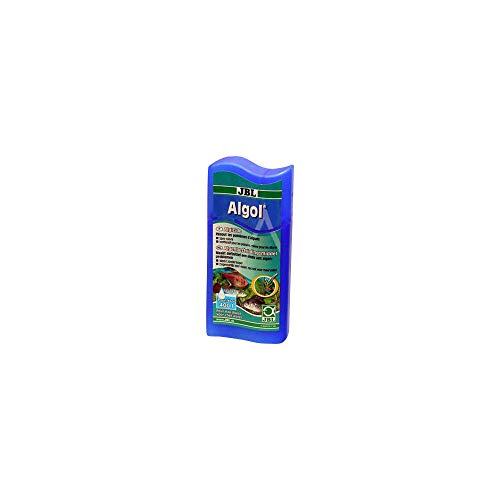 JBL Conditionneur d'Eau Contre les Algues dans les Aquariums d'Eau Douce, Algol, 100 mL pour 400L