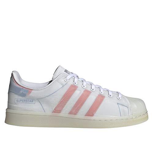 adidas Superstar FUTURESHELL, Zapatillas Deportivas Hombre, FTWR White Semi Solar Red Bright Blue, 40 EU
