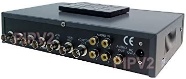 4 Channel Quad Video Picture in Picture Video Processor with Audio Support product image