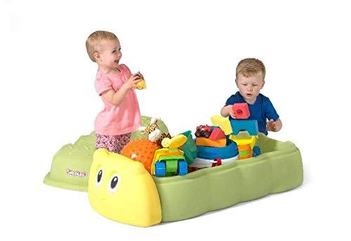 蓋付き サンドボックス 子供 砂場 キャタピラー サンドボックス 1歳から simplay3