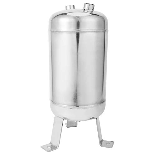 Tanque de depósito de aire, acero inoxidable Hecho de válvula de drenaje del tanque de 300 mm 5L