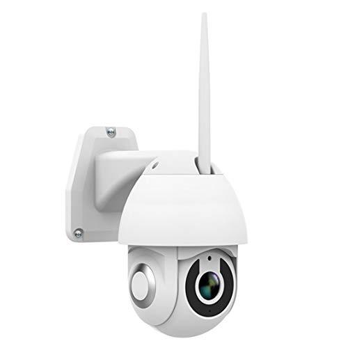 Jessicadaphne V380 Cámara Domo inalámbrica Inteligente Cámara de vigilancia en Red Monitor de Alarma WiFi Remoto al Aire Libre Impermeable al Aire Libre