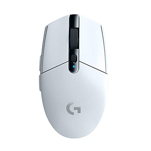 Logicool G ロジクール G ゲーミングマウス ワイヤレス G304 ホワイト HERO センサー LIGHTSPEED 無線 99g 軽量 G304rWH 国内正規品
