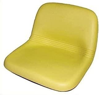 AM115813 Yellow High Back Seat For John Deere LX188 LX186 LX178 LX176 LX173